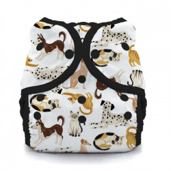 Thirsties Duo Wrap na PAT, size 3 - Pawsitive Pals