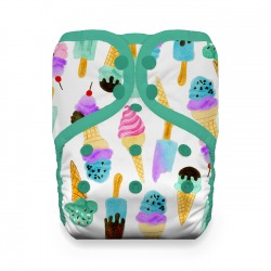 Thirsties One Size Pocket Diaper - We All Scream