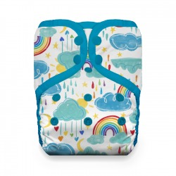Thirsties Natural One Size Pocket Diaper - Rainbow