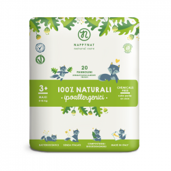 Nappynat natural care Midi (4-10kg) - 22ks