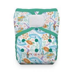 Thirsties One Size Pocket Diaper na SZ - Mermaid Lagoon