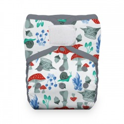 Thirsties Natural One Size Pocket Diaper na SZ- Forest Frolic