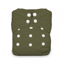 Thirsties One size AIO na PAT - Olive