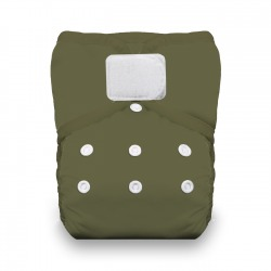 Thirsties Natural One Size Pocket Diaper na SZ - Olive