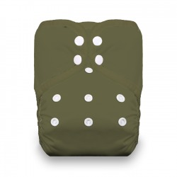 Thirsties Natural One Size Pocket Diaper na PAT - Olive