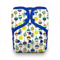 Thirsties Natural One Size Pocket Diaper na PAT - Up and Away