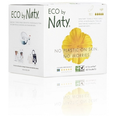 Eko vložky Naty Nature super - 13ks