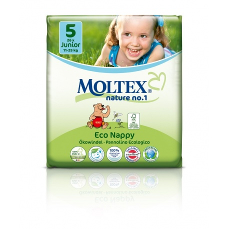 Moltex Öko Nature Junior (11-25kg) - 26ks