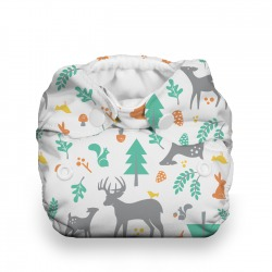 Thirsties Natural Newborn AIO na PAT - Woodland