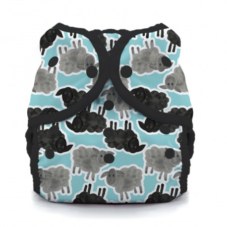 Thirsties Duo Wrap na PAT, size 1 - Counting sheep