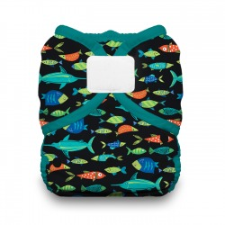 Thirsties Duo Wrap na SZ, size 2 - Fish Tales