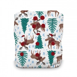 Thirsties Natural One size AIO - Merry Moose