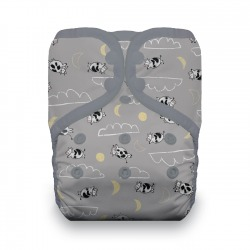 Thirsties One Size Pocket Diaper - Over the moon