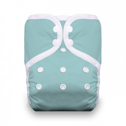 Thirsties One Size Pocket Diaper - Aqua